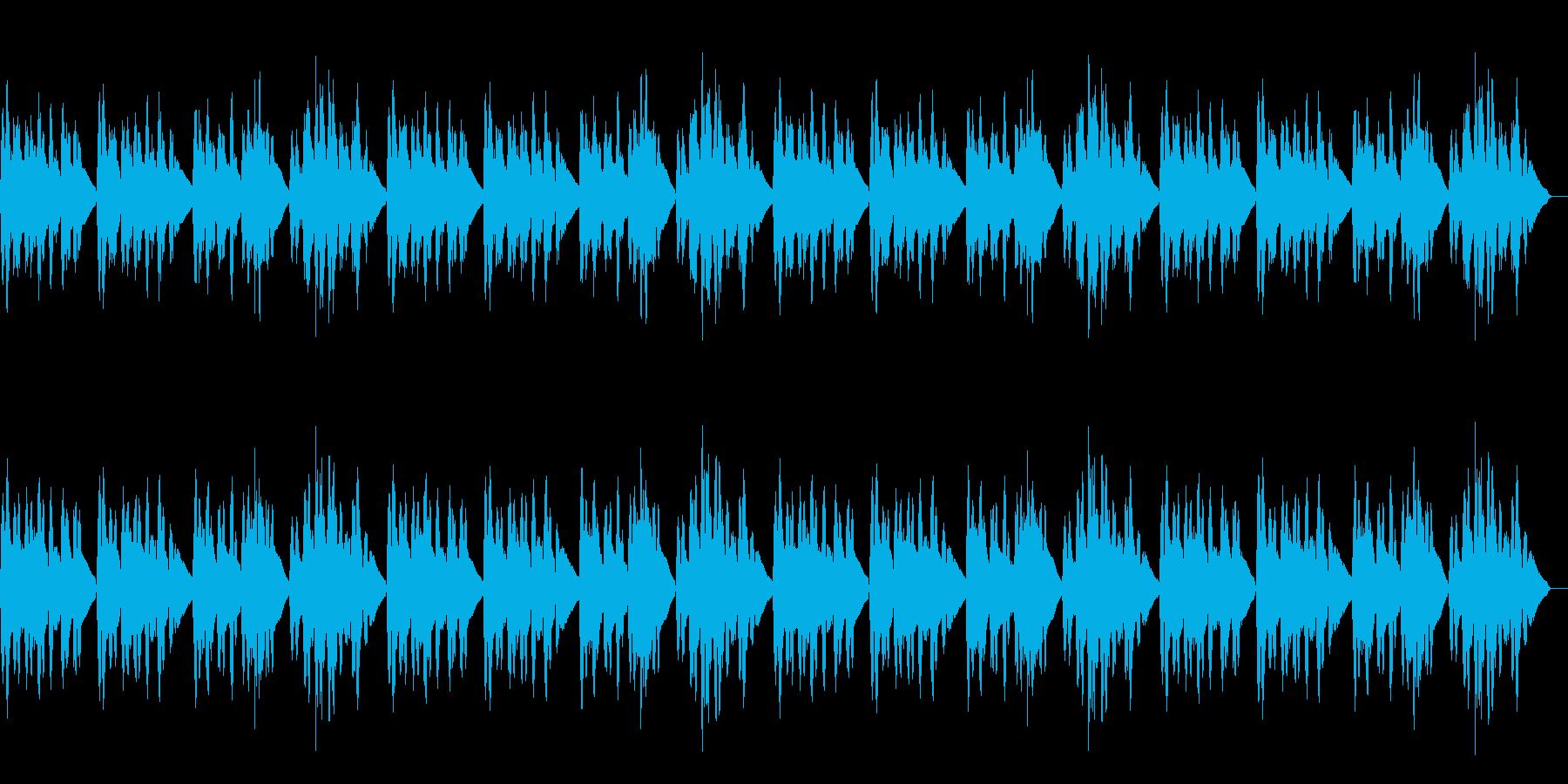 「仰げば尊し」のバイオリンソロの再生済みの波形