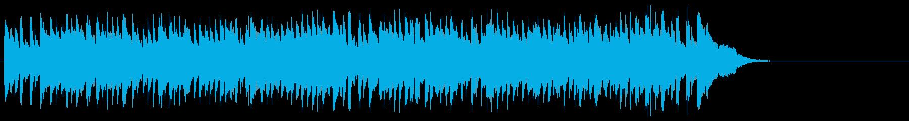 春の陽射しのフュージョン(サビ)の再生済みの波形