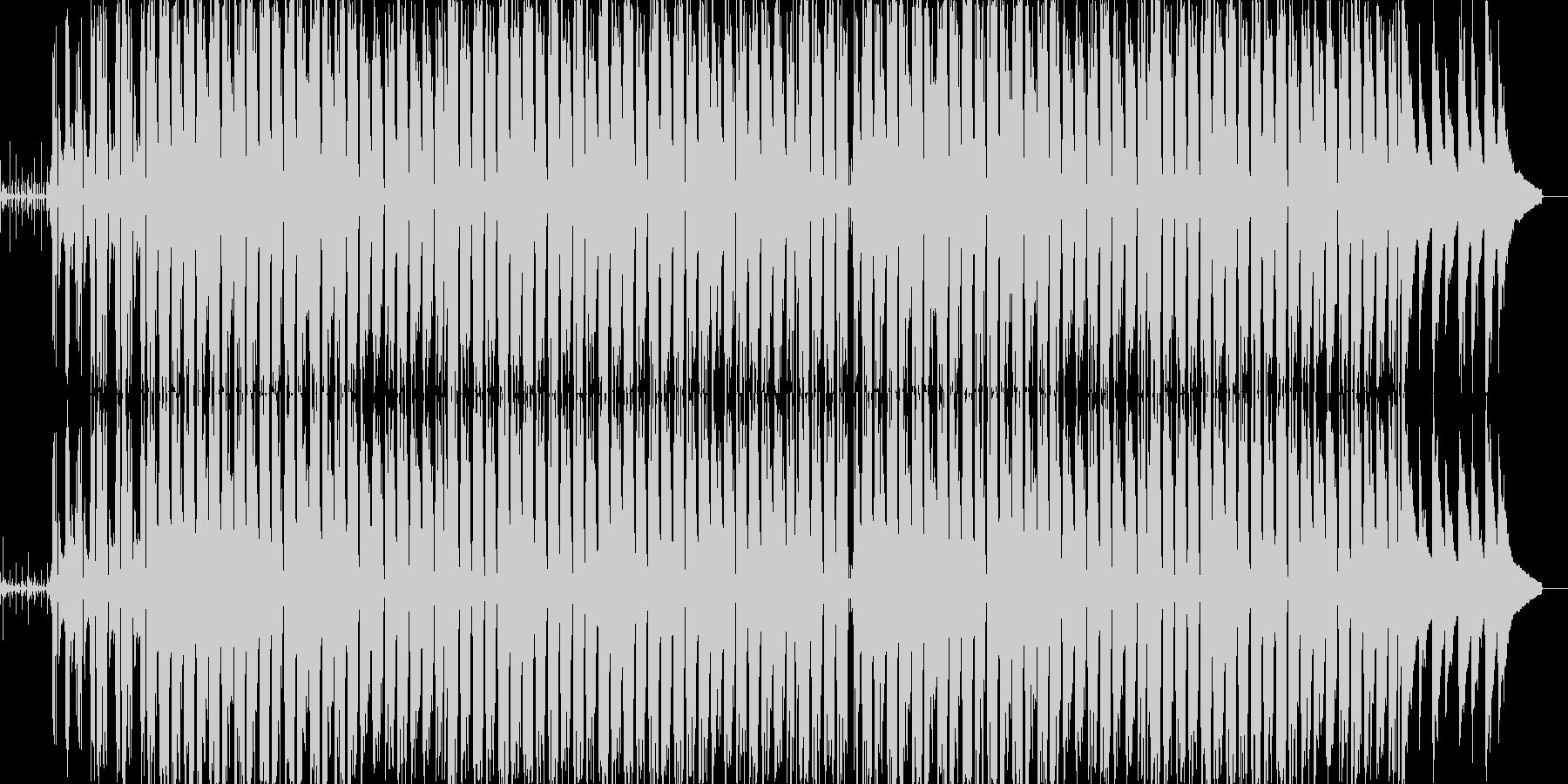 ジムノペディ1番のアップテンポアレンジの未再生の波形