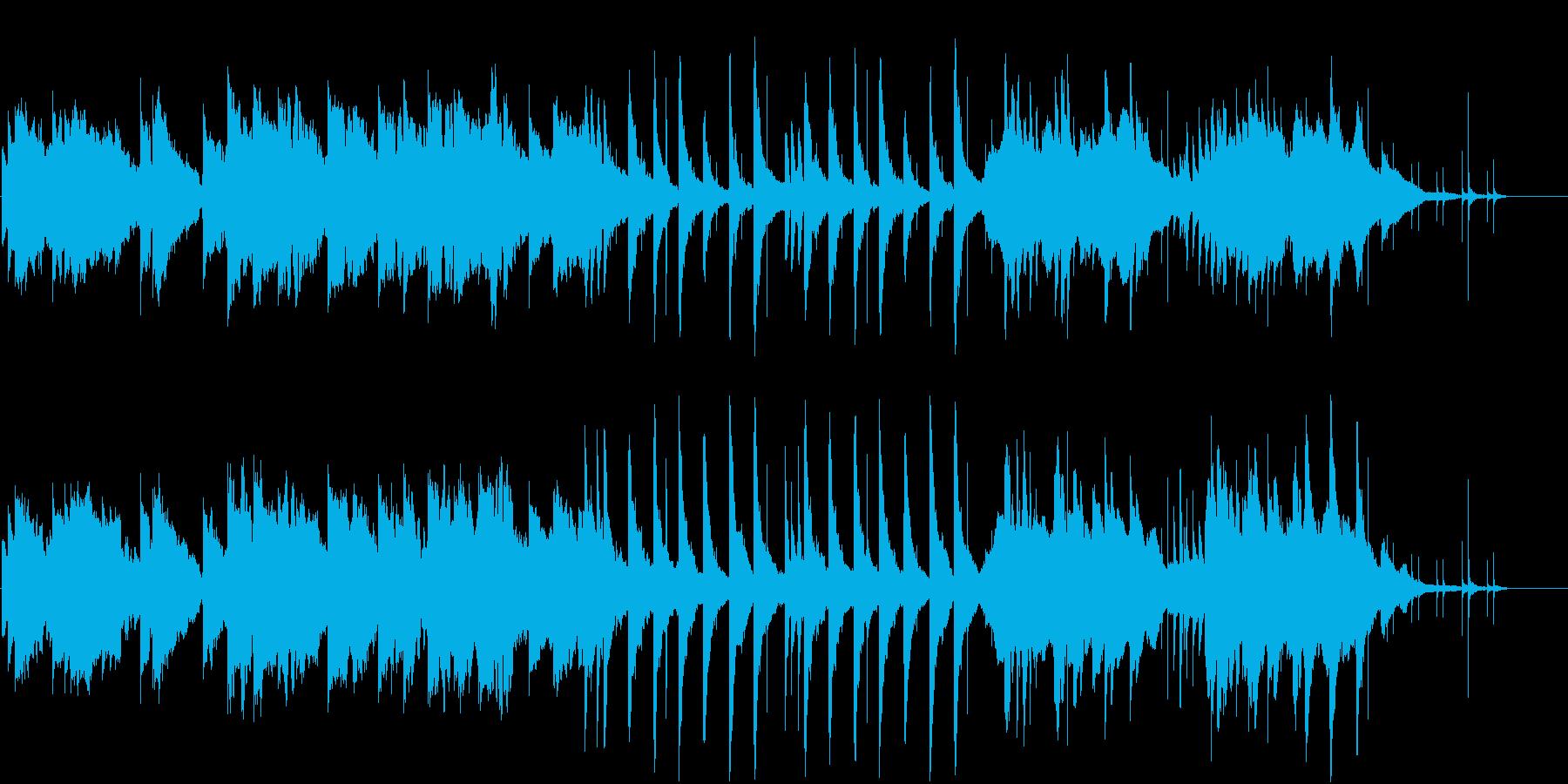 【エレクトロニカ】温かさ・浮遊感・透明感の再生済みの波形