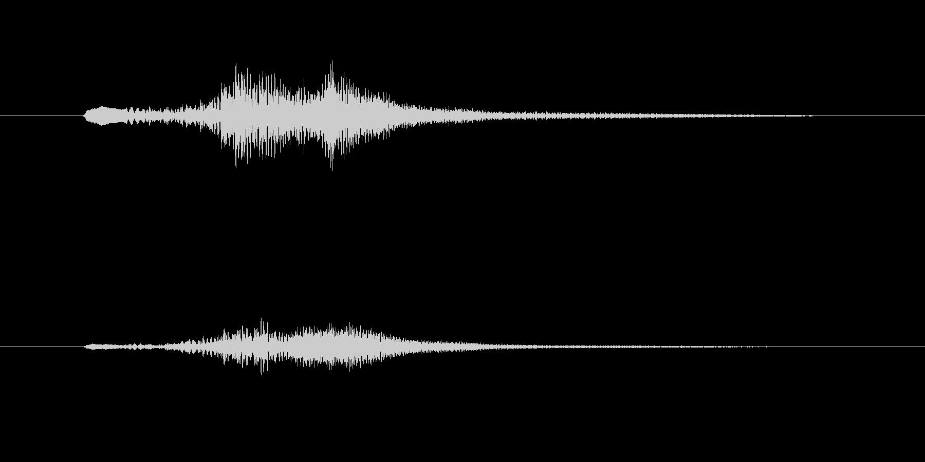 グランドハープのグリッサンド inA♭の未再生の波形