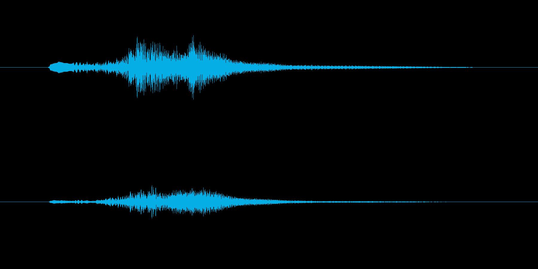 グランドハープのグリッサンド inA♭の再生済みの波形
