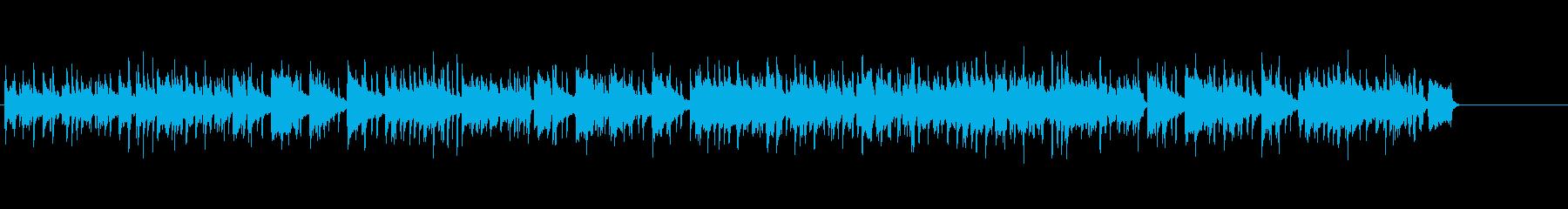 オープニング・コーナー紹介・穏やかな曲調の再生済みの波形