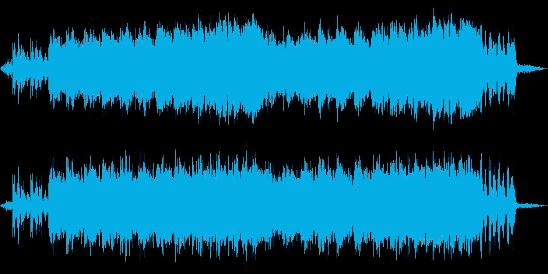 自然を感じるリラクゼーションミュージックの再生済みの波形
