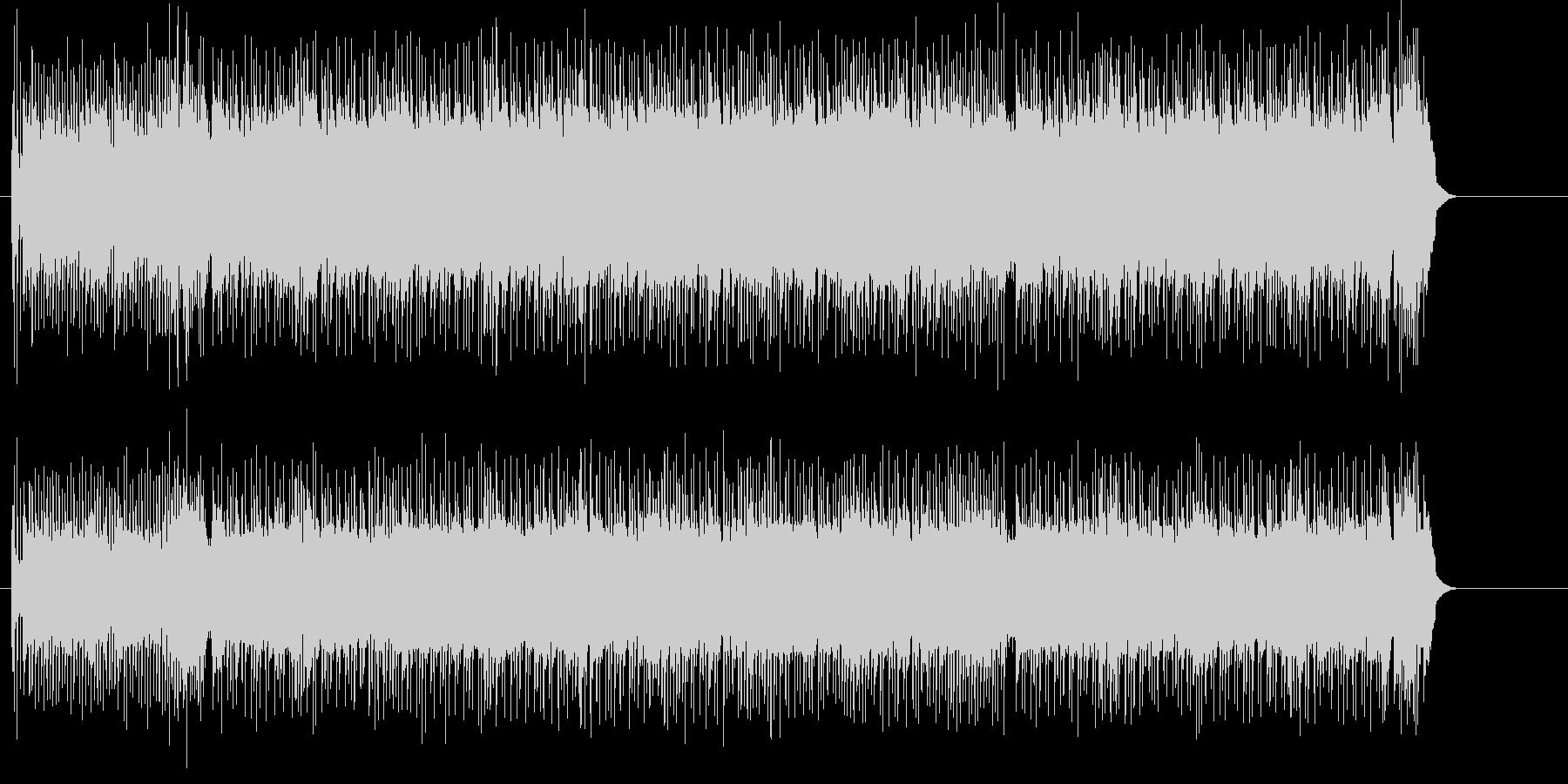 スポーティなオープニング向けギターの未再生の波形