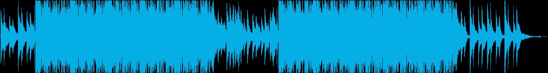 哀愁感のあるコーポレート向きBGMの再生済みの波形
