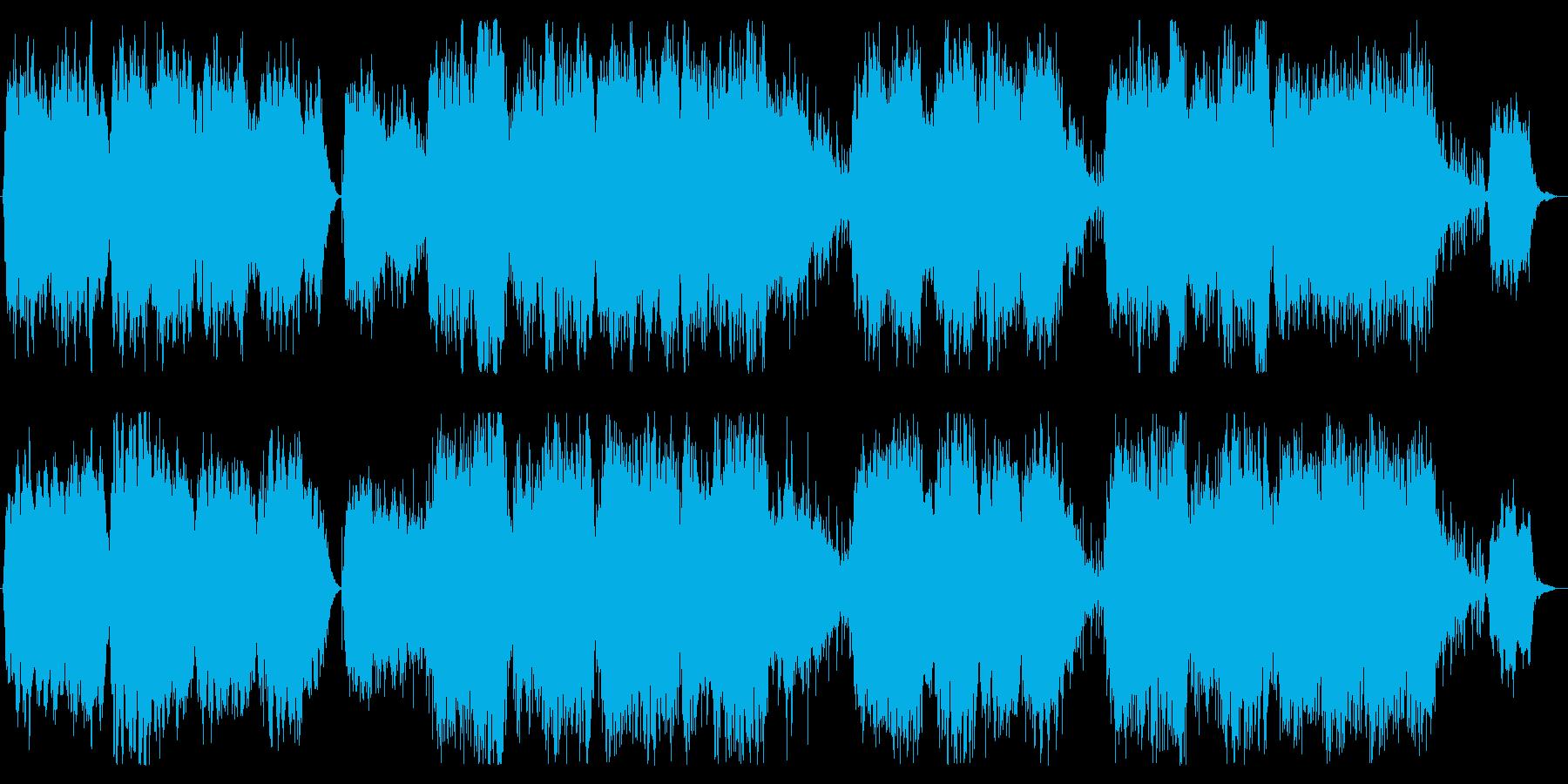 賛美歌・コーラス・ミサ曲、厳かなソングの再生済みの波形