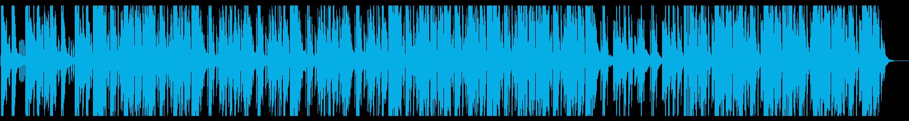 重苦しい雰囲気のHiphopの再生済みの波形