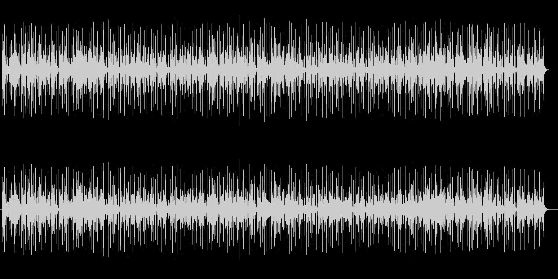 落ち着きのあるふんわりシンセサイザー曲の未再生の波形