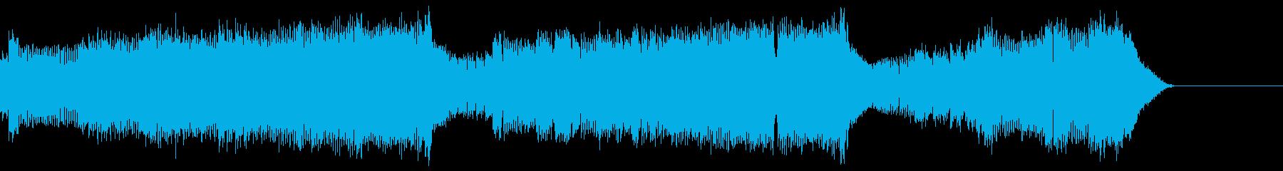 ディストーションギターmeetsテクノ…の再生済みの波形