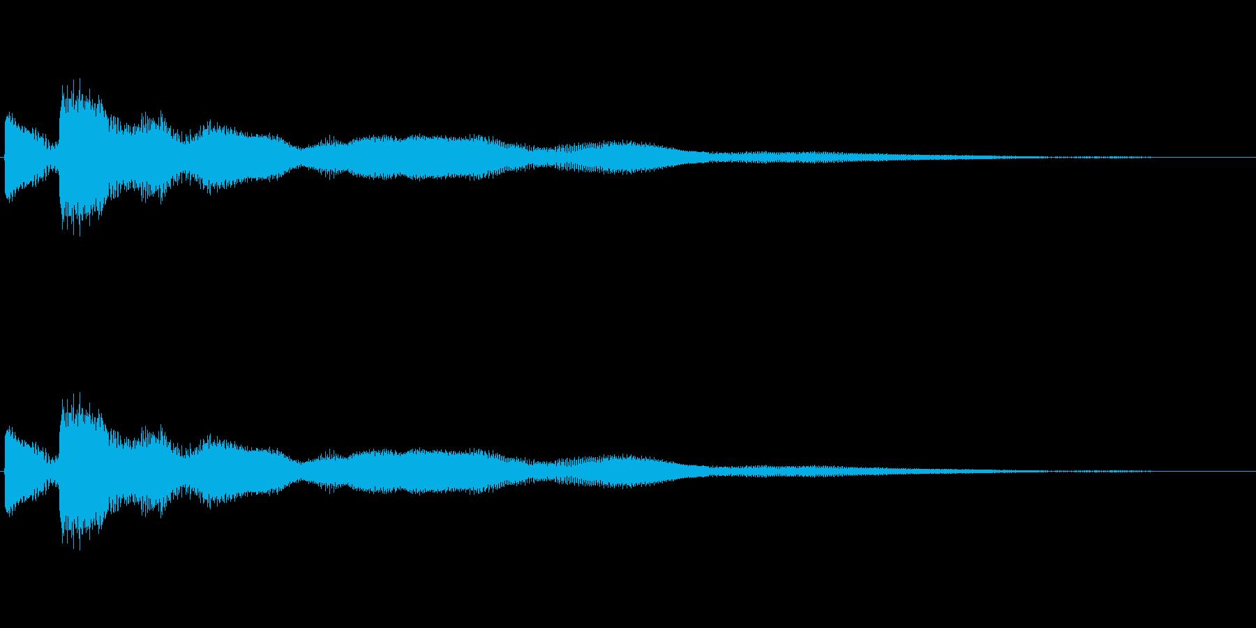 [キラン]コイン・アイテム獲得の再生済みの波形