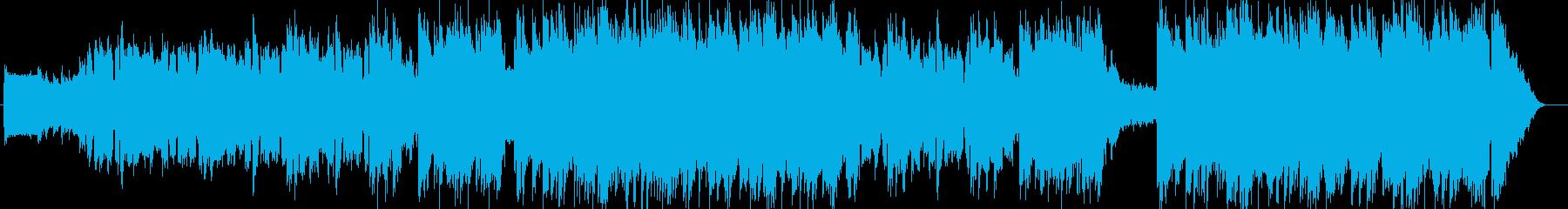 キラキラに切なさが混じったアーバンポップの再生済みの波形