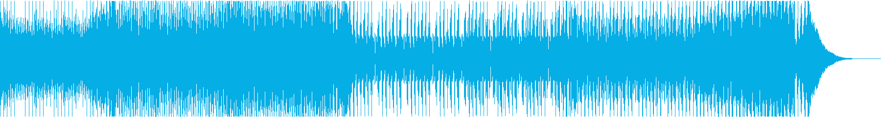 EDM 楽しい ワクワク スポーツ 走るの再生済みの波形