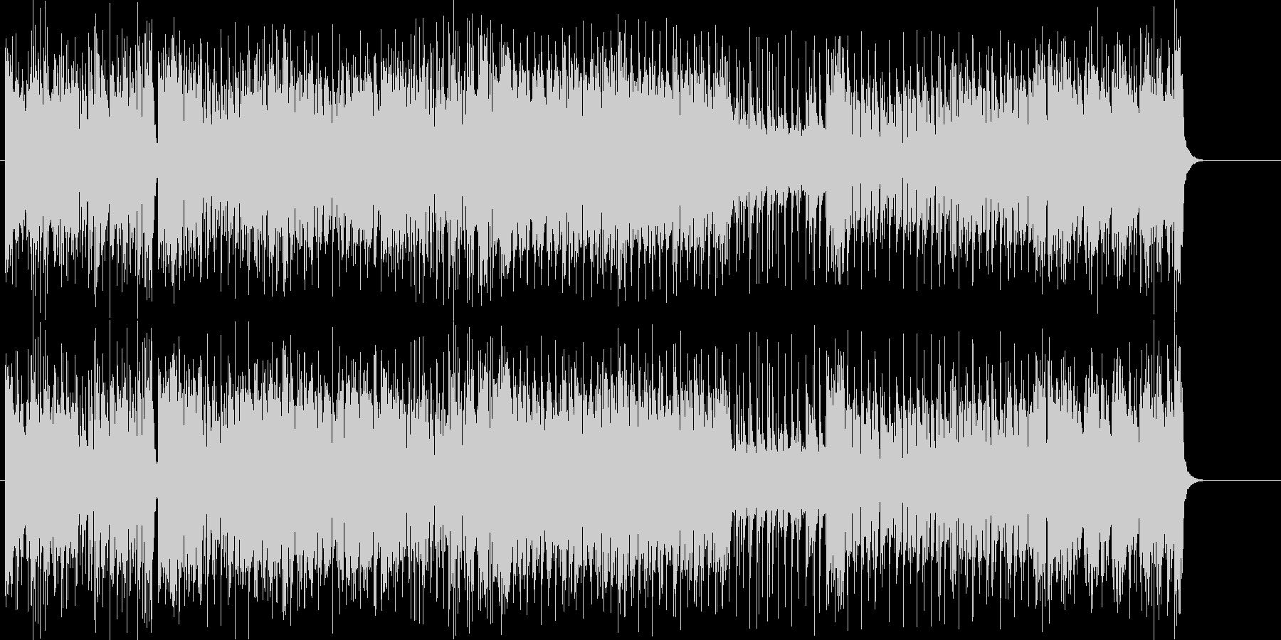 ファイティングに立ち向かうイメージの未再生の波形