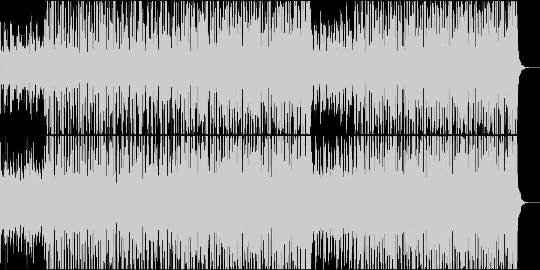 アーバンスタイルヒップホップCM映像向けの未再生の波形
