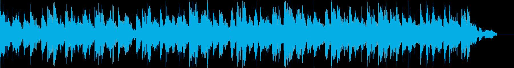 ロックなBGNの再生済みの波形