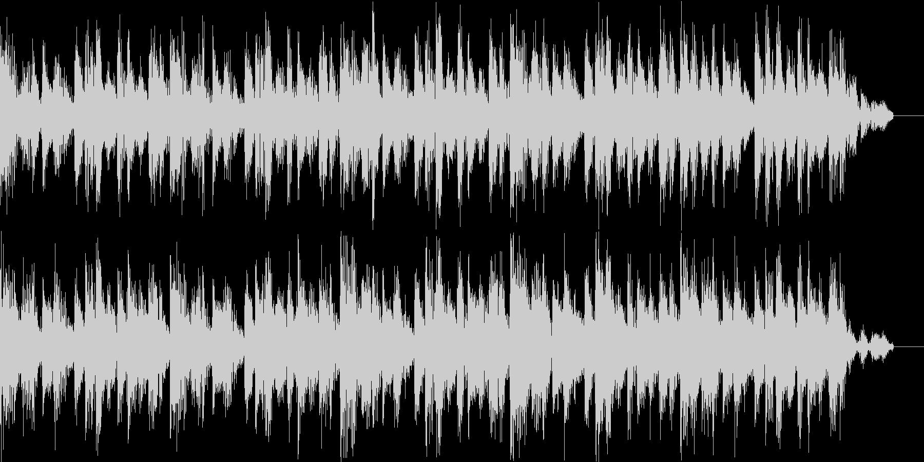 ロックなBGNの未再生の波形