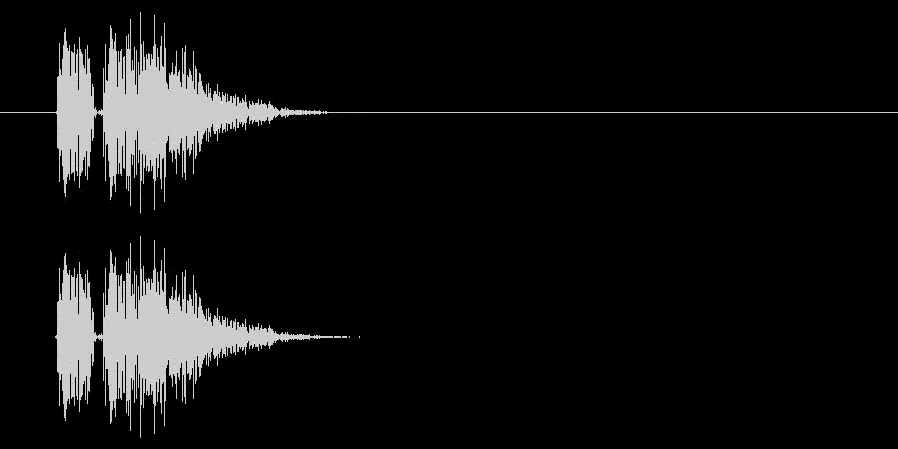 SNES 格闘05-02(ヒット)の未再生の波形