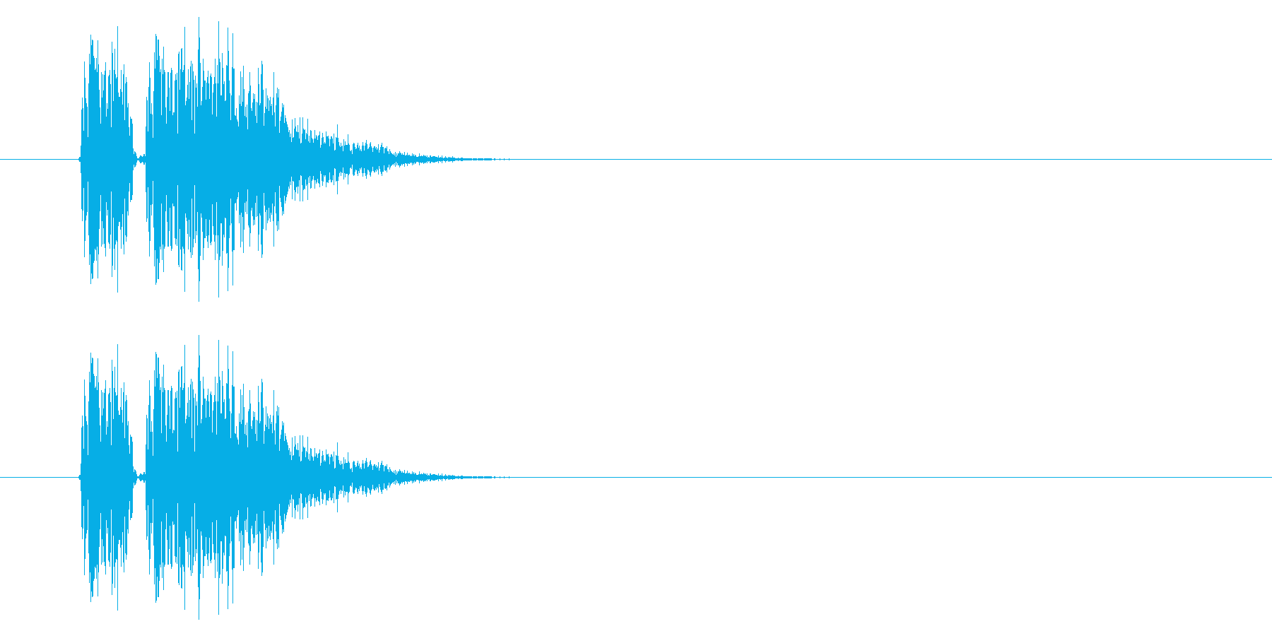 SNES 格闘05-02(ヒット)の再生済みの波形