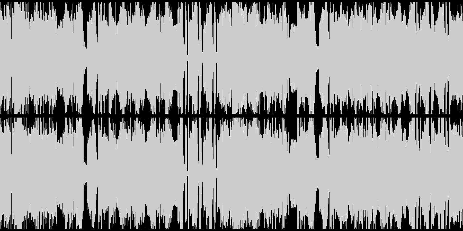 bpm128 Loop仕様の未再生の波形