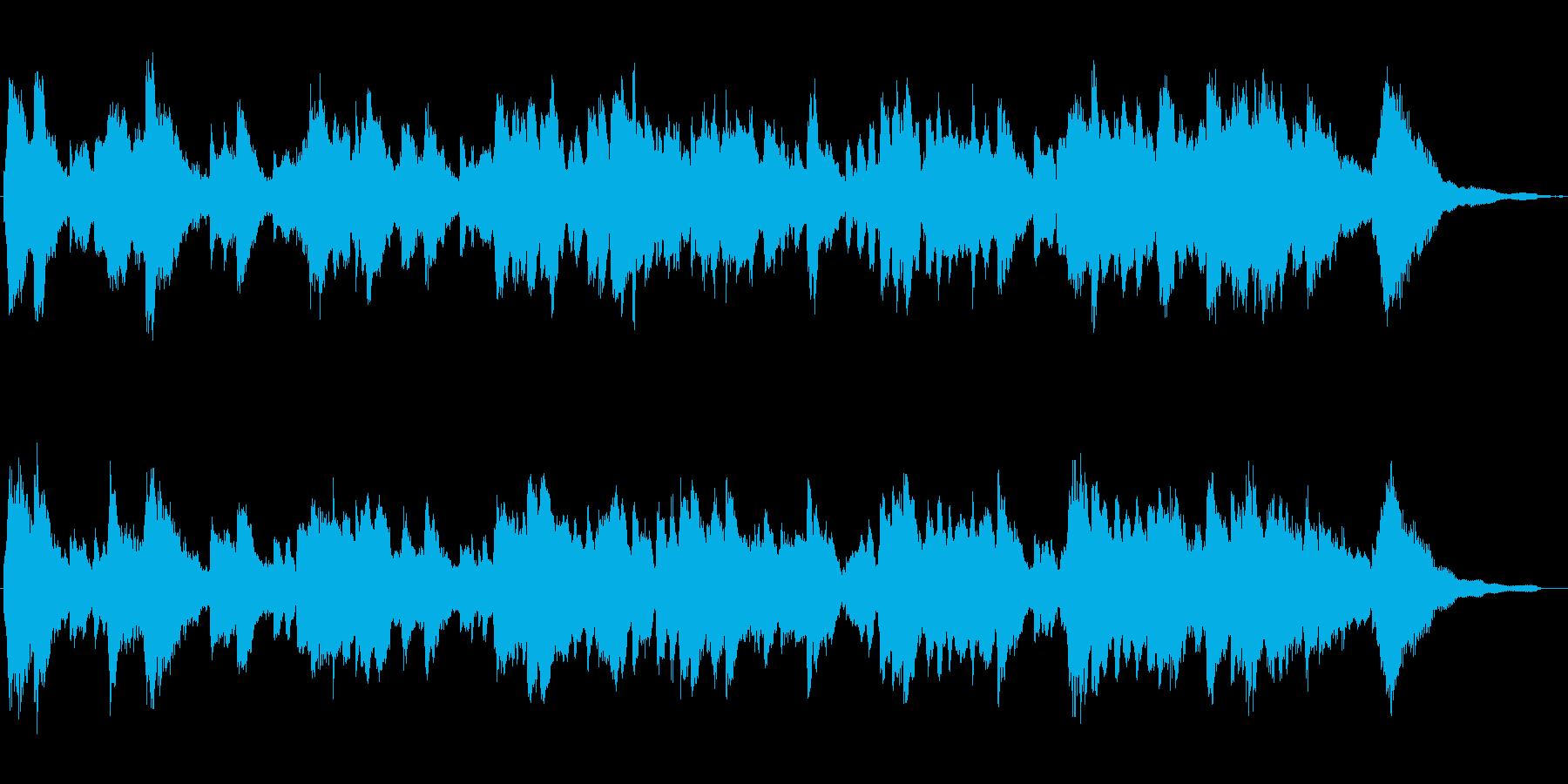 ほのぼのとしたエレピのジングルの再生済みの波形