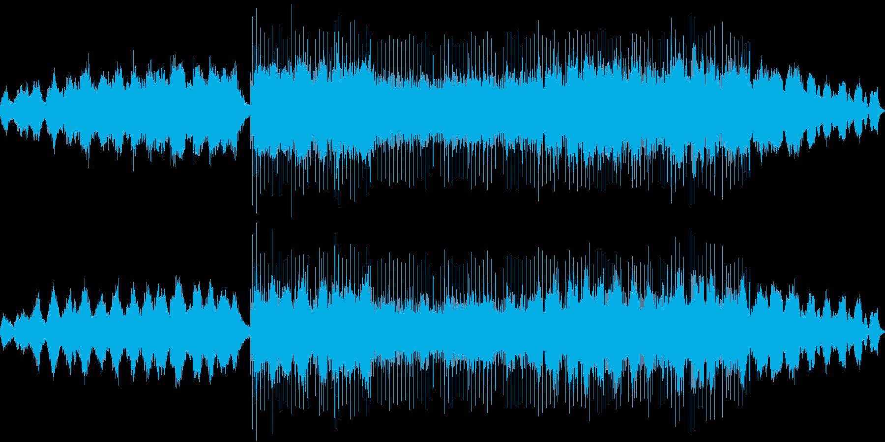 アンビエント音から始まるエレクトロニカの再生済みの波形