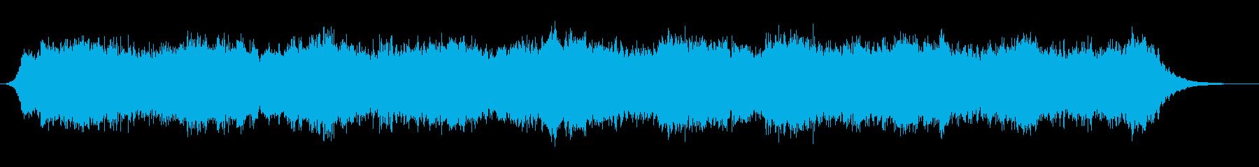 低音のドローン(持続音)です。の再生済みの波形