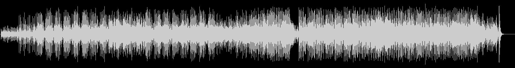アイヌ民謡+沖縄民謡風BGMの未再生の波形
