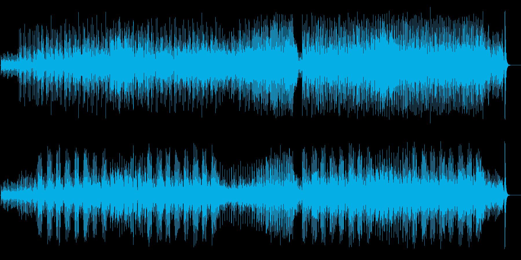 アイヌ民謡+沖縄民謡風BGMの再生済みの波形