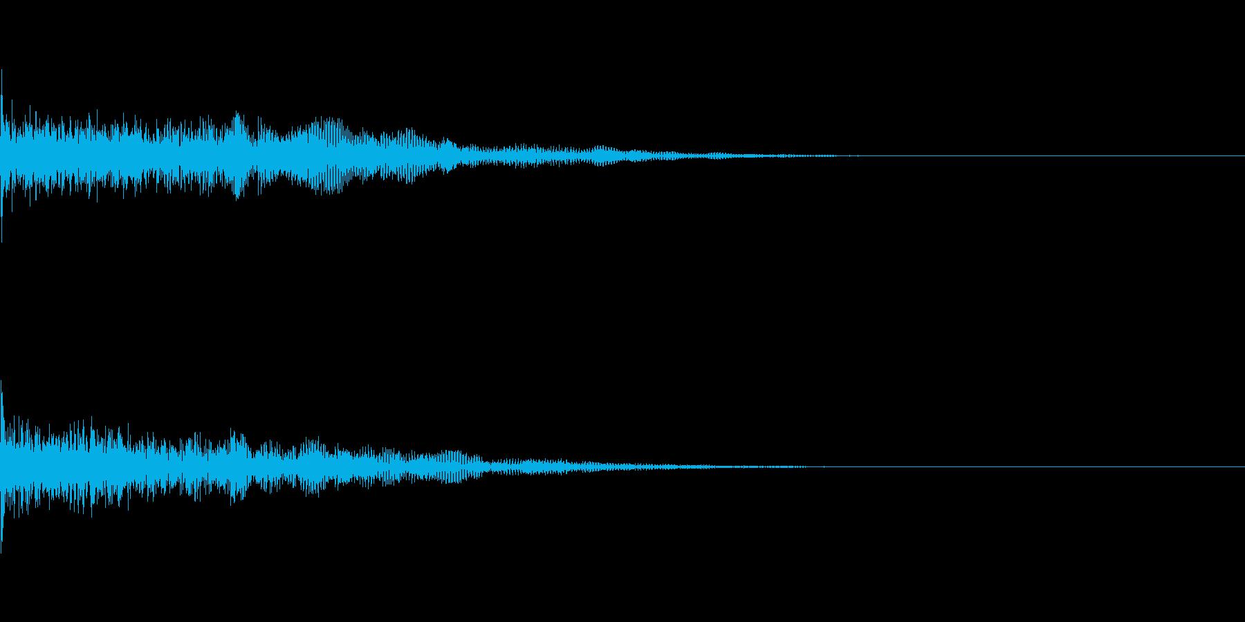 ドーン、バーン(ホラー、ドッキリ)の再生済みの波形