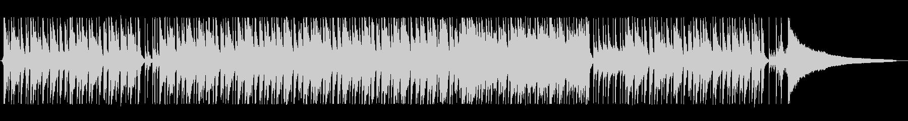 軽やかで明るいシンセポップサウンドの未再生の波形