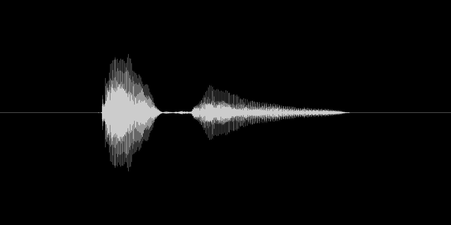 airplane 発音:エアプレーン …の未再生の波形