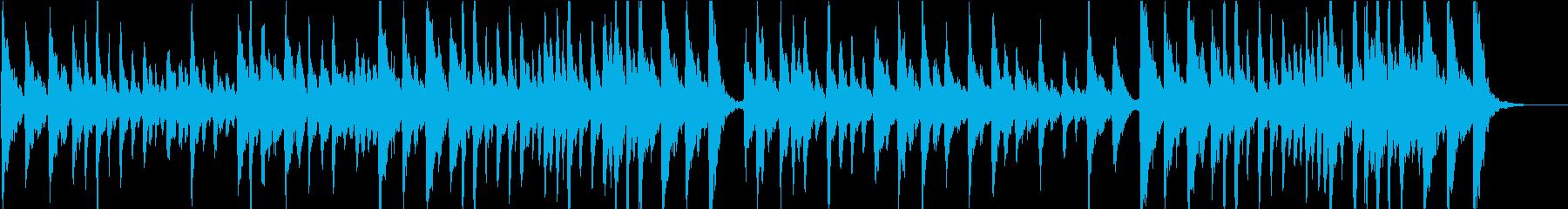 ストリングスの高級感が印象的な曲の再生済みの波形