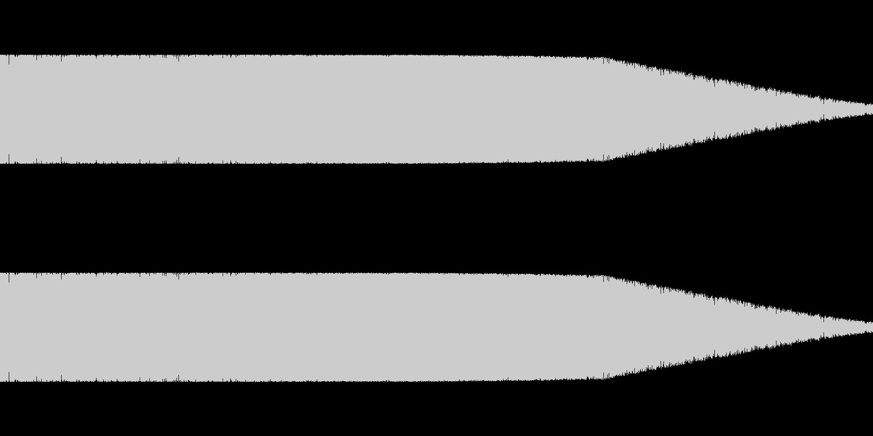 ロボット足音 タイプ5の未再生の波形