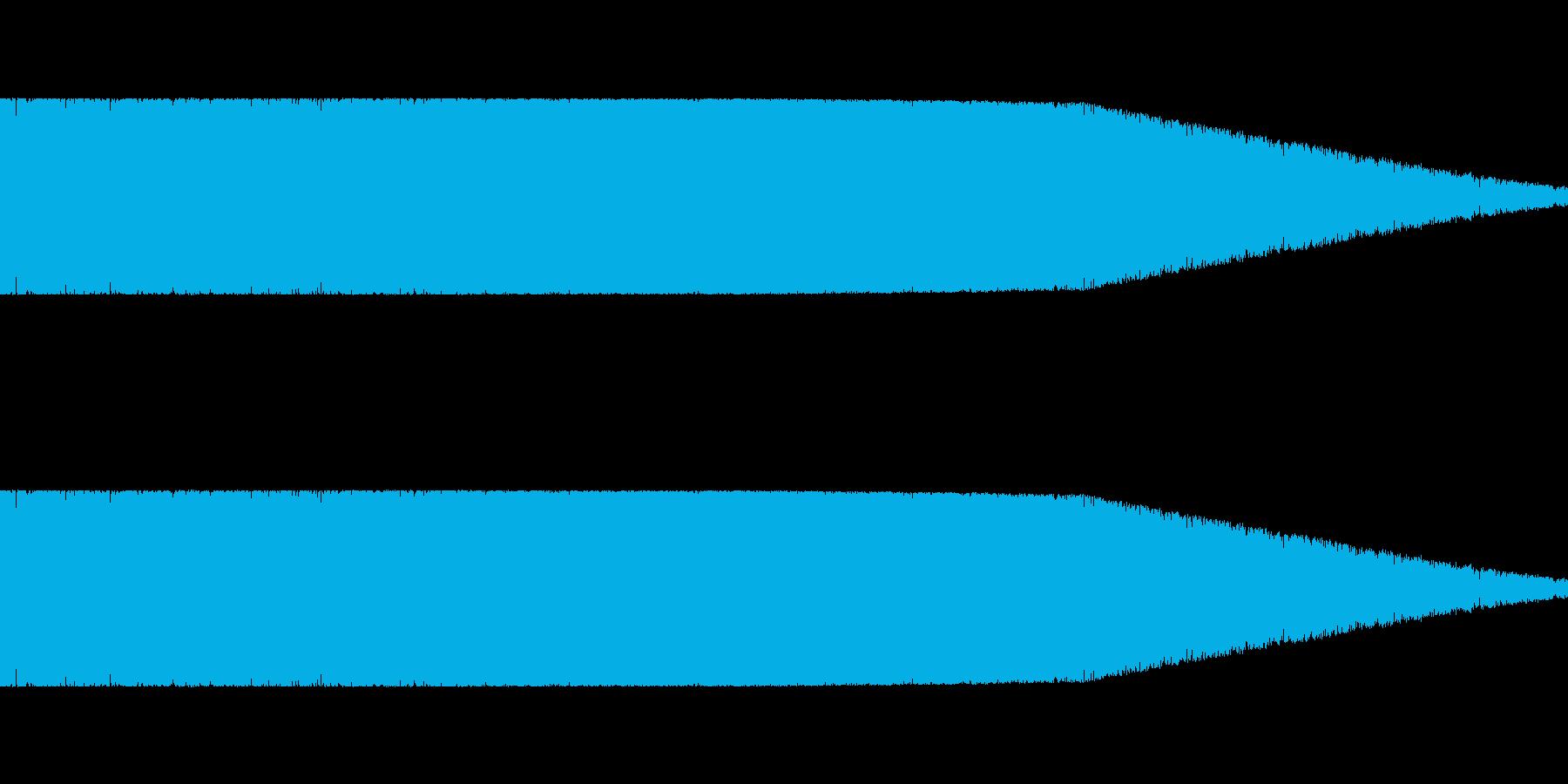 ロボット足音 タイプ5の再生済みの波形