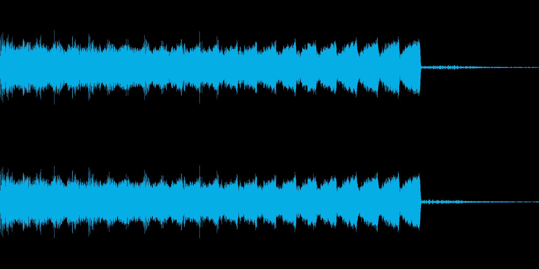 【ゲーム】短めなチャージ・吸収・回復音の再生済みの波形