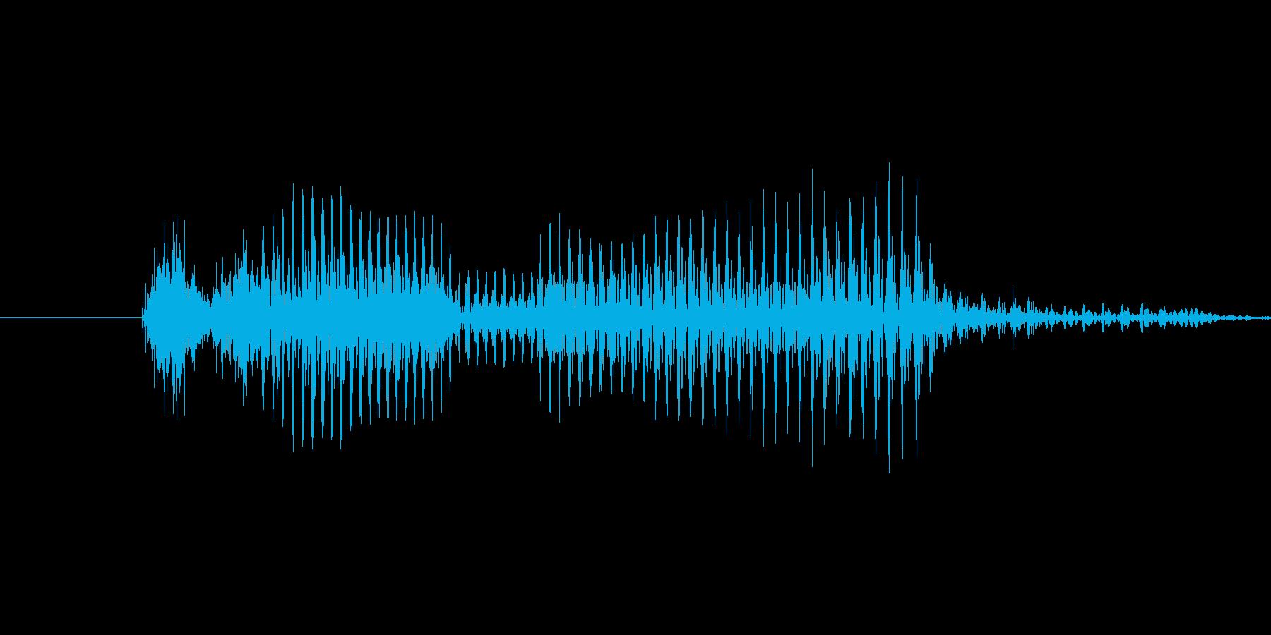 「10 AM」英語発音の再生済みの波形