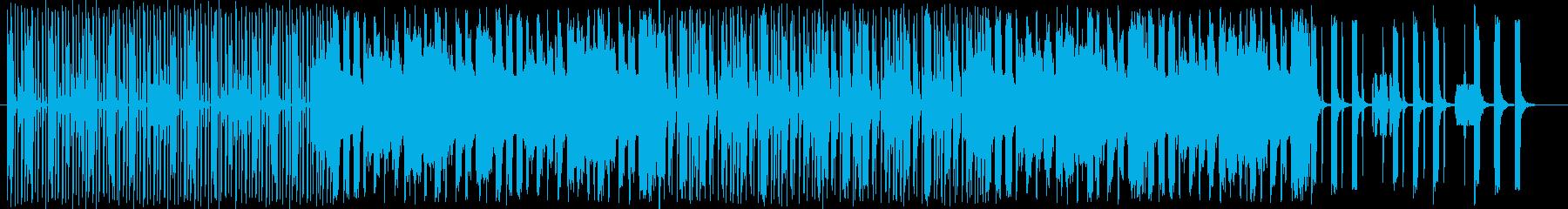 動物の声を取り入れたジャングルソングの再生済みの波形