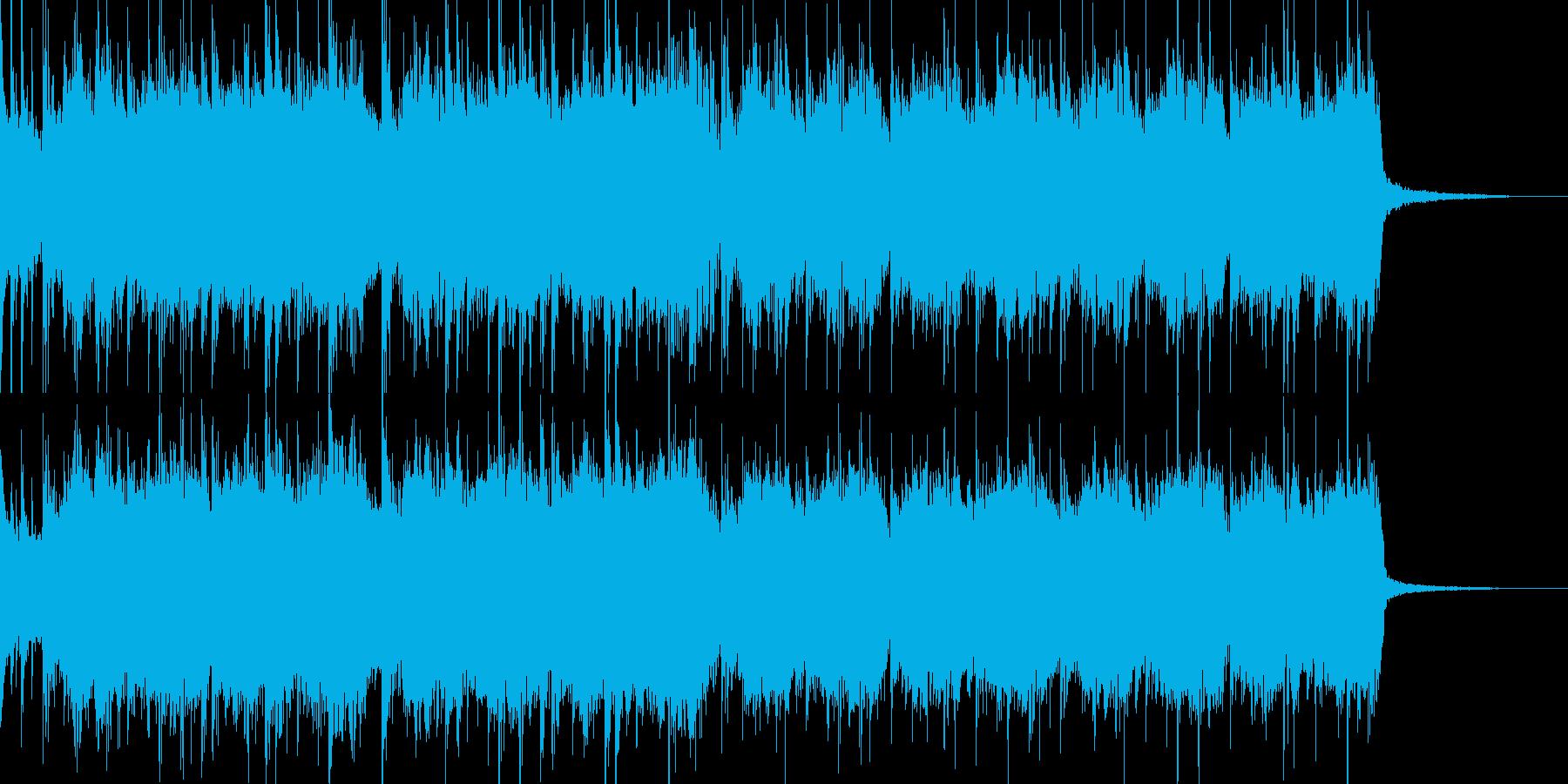 J-POPでショートな曲の再生済みの波形