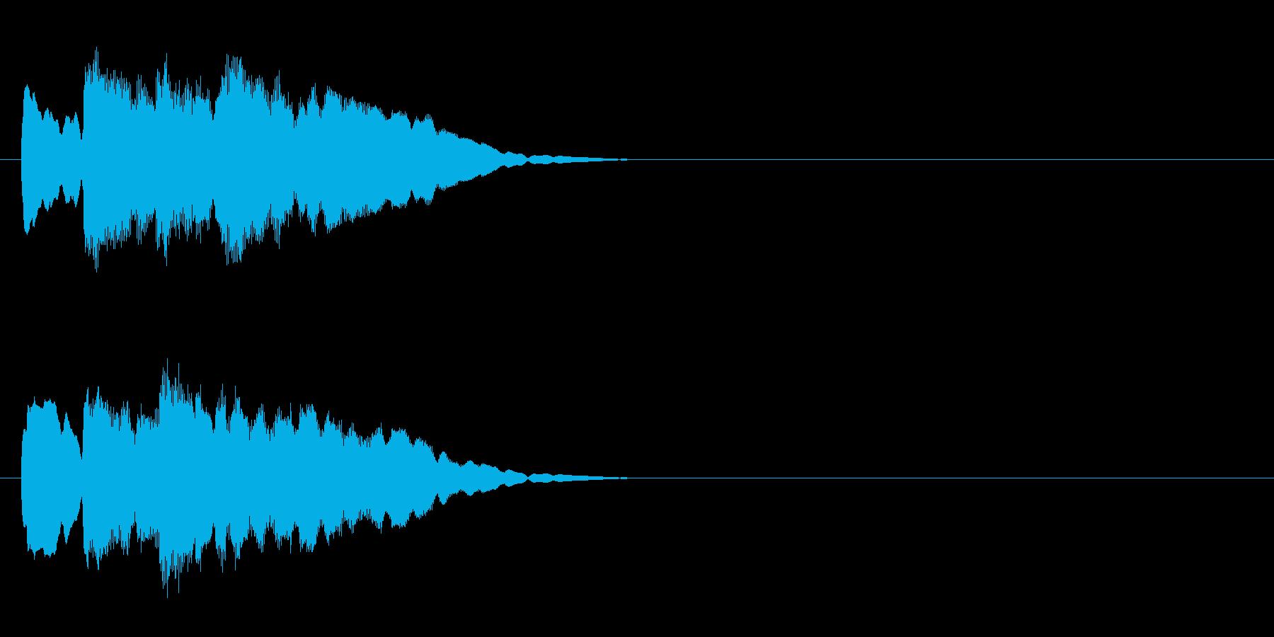 クイズ系05 正解 ピンポンピンポンの再生済みの波形