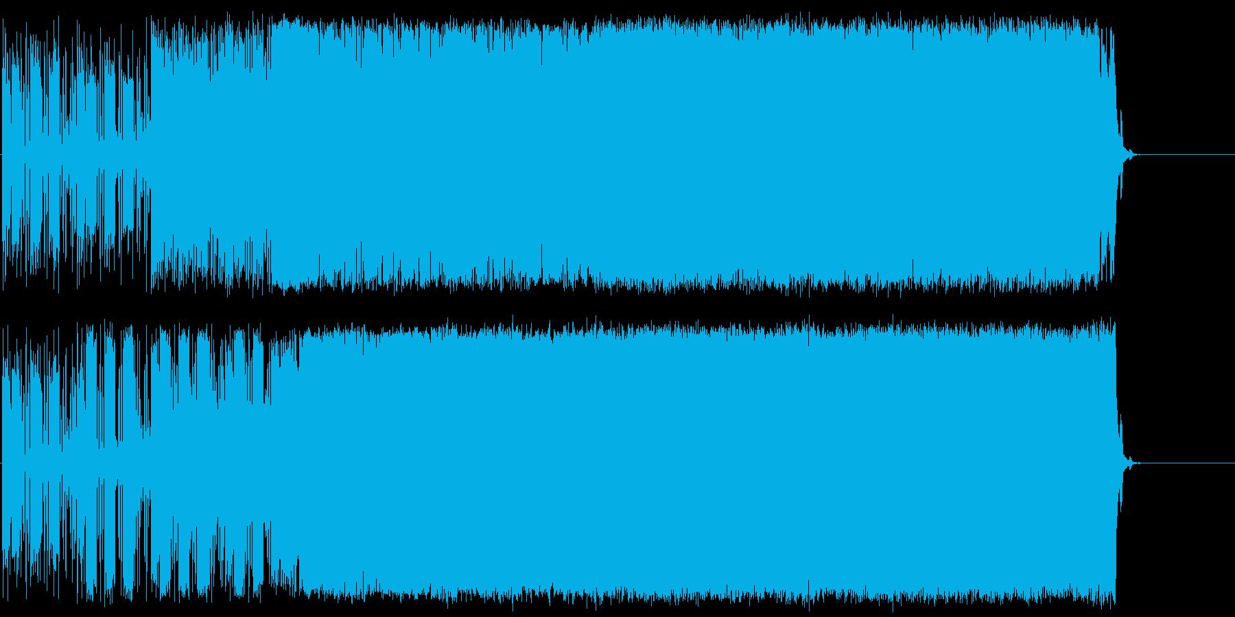 オープニング 工業 機械 躍進 ドライブの再生済みの波形