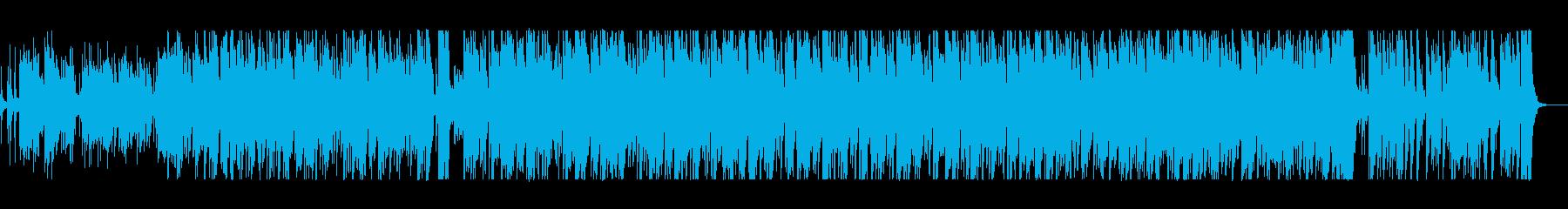 スティールパンの音が心地いいボサノヴァの再生済みの波形