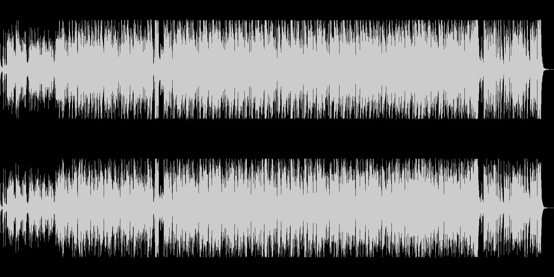 スティールパンの音が心地いいボサノヴァの未再生の波形