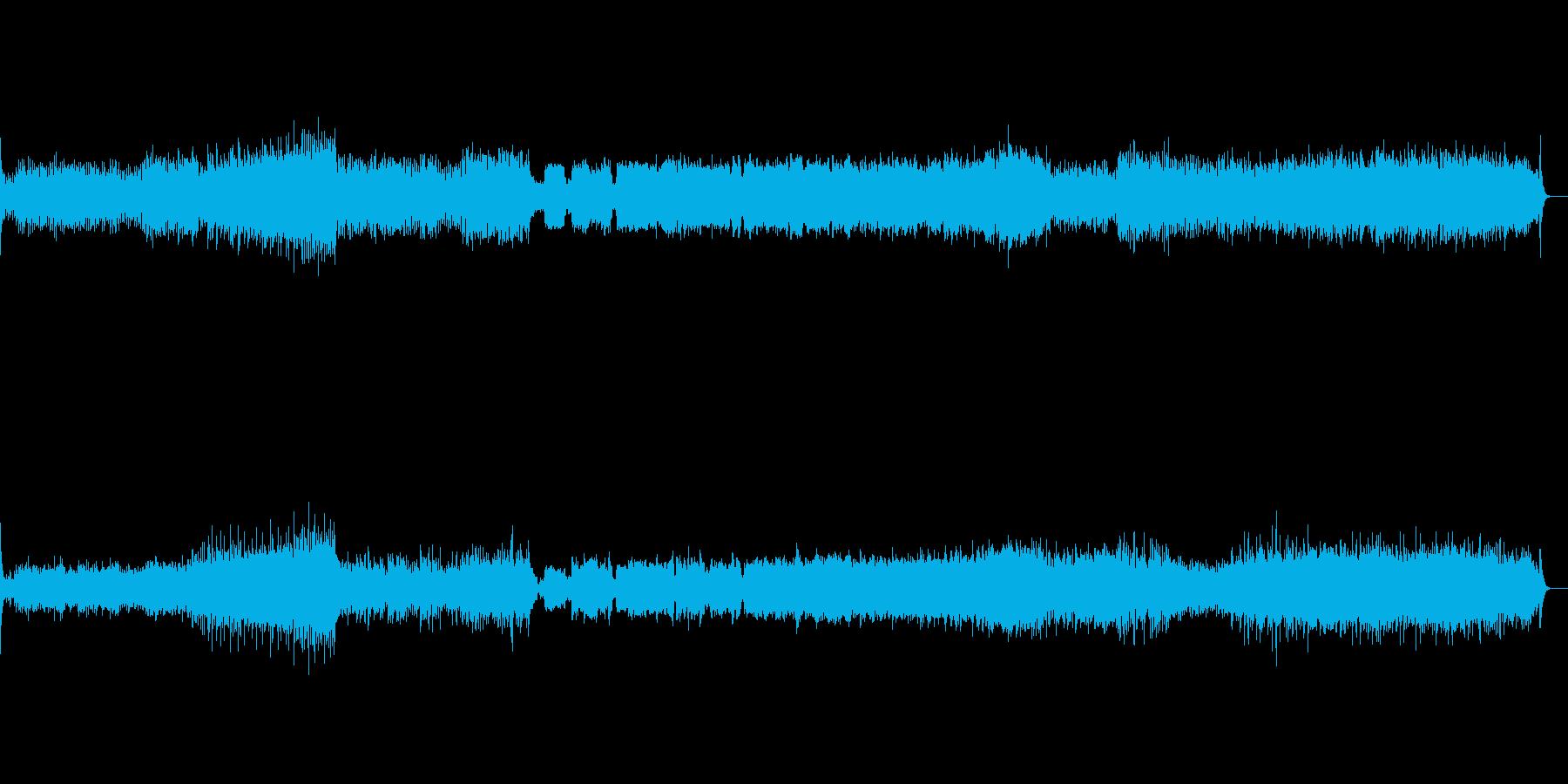 吹奏楽のための第一組曲より第二楽章の再生済みの波形