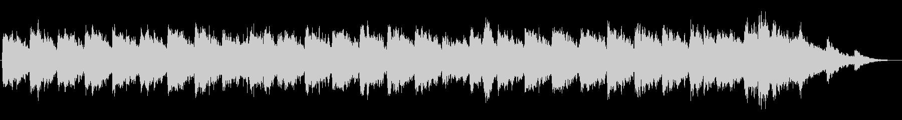 キラキラしたメルヘンチックなジングル4の未再生の波形