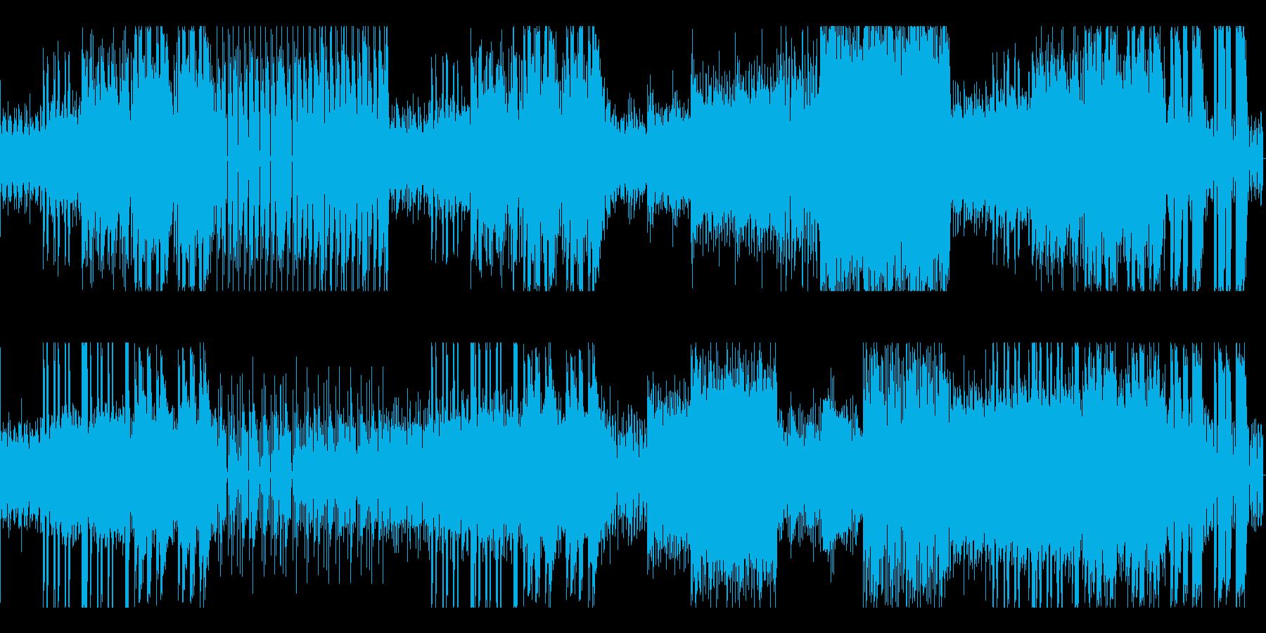 ノリノリになれるクラブ系music!の再生済みの波形