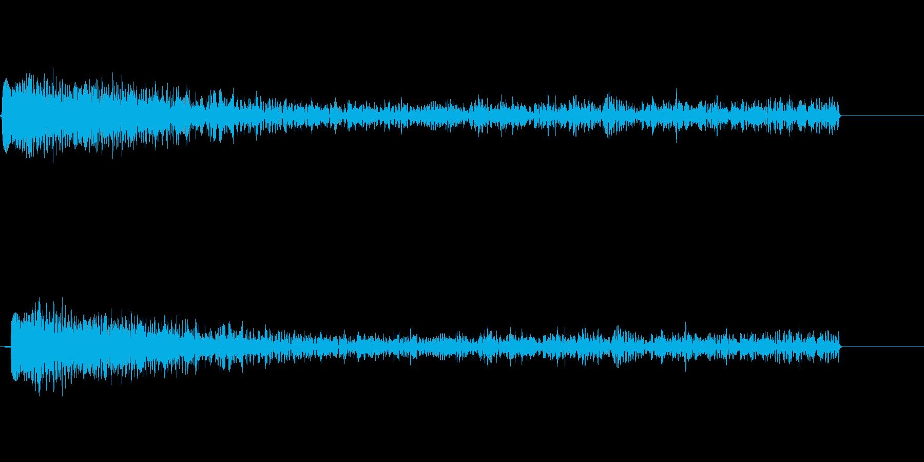【SE ジングル】SF3の再生済みの波形
