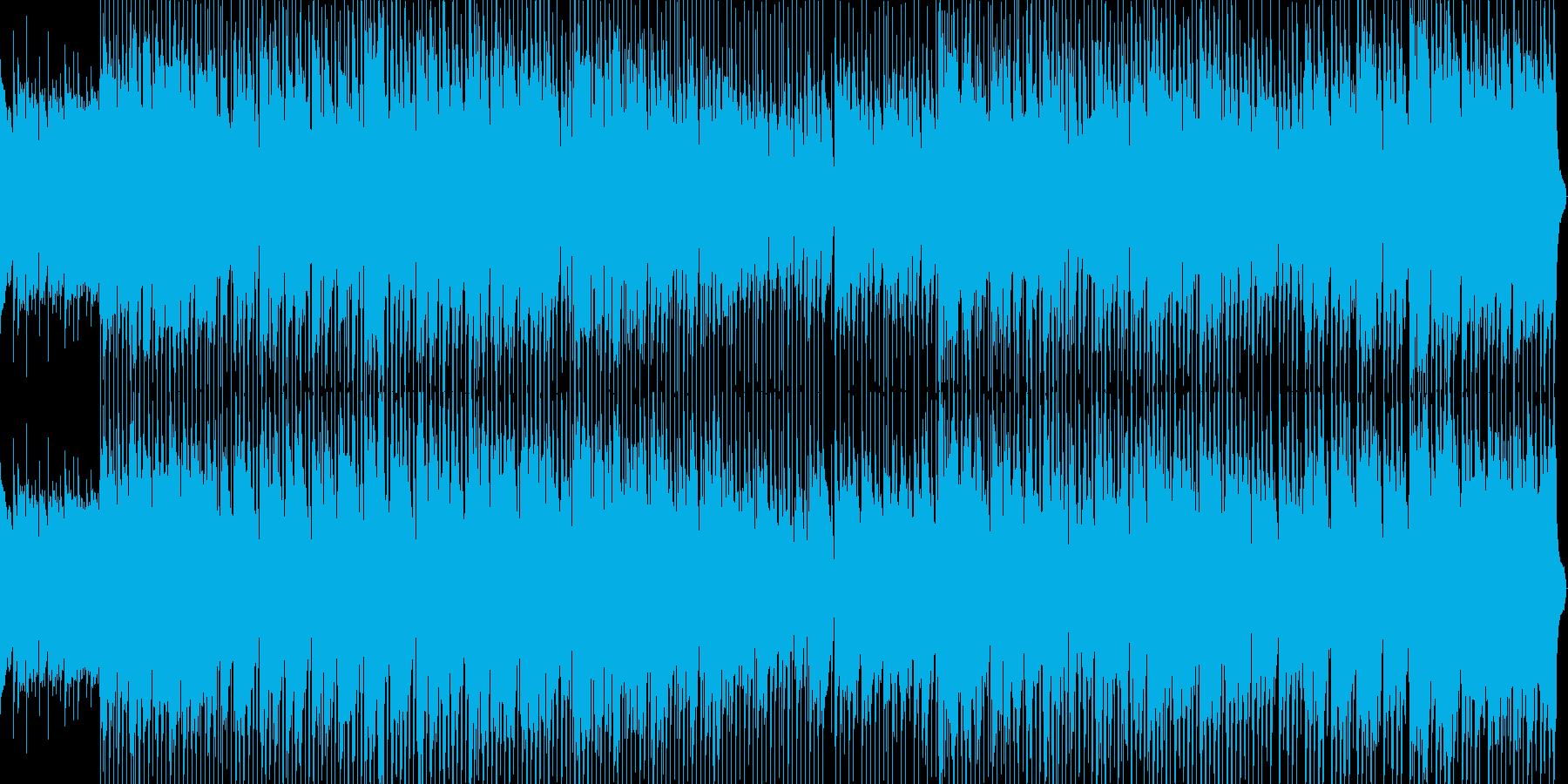 粗野で無骨な男の歌の再生済みの波形