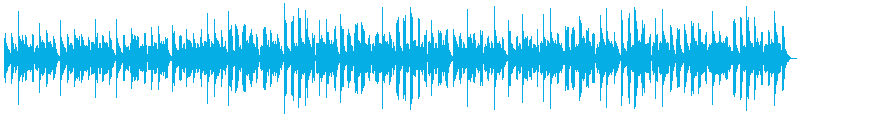 クイズの答えを考える際の、BGMのイメ…の再生済みの波形