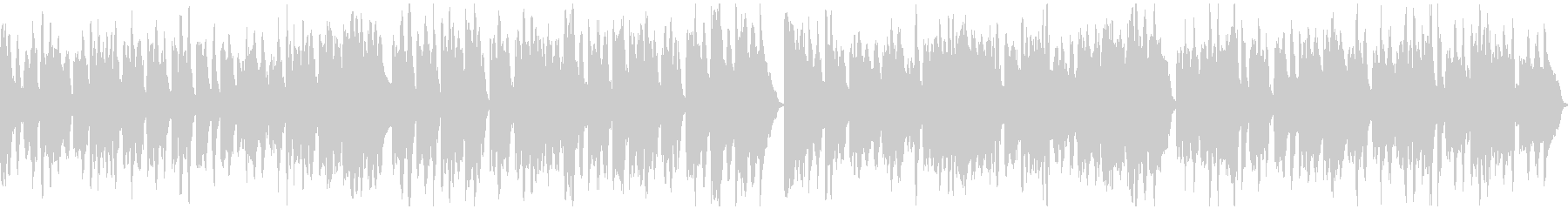 メルヘン風BGMの未再生の波形
